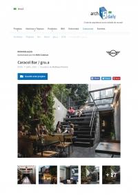 Archdaily | Bar Caracol - julho 2019