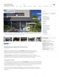 Galeria da Arquitetura - Casa Mattos - Março 2018