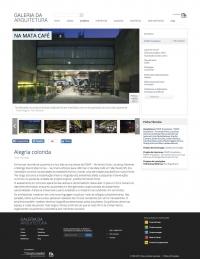 Galeria da Arquitetura - Na Mata Café - Março 2018