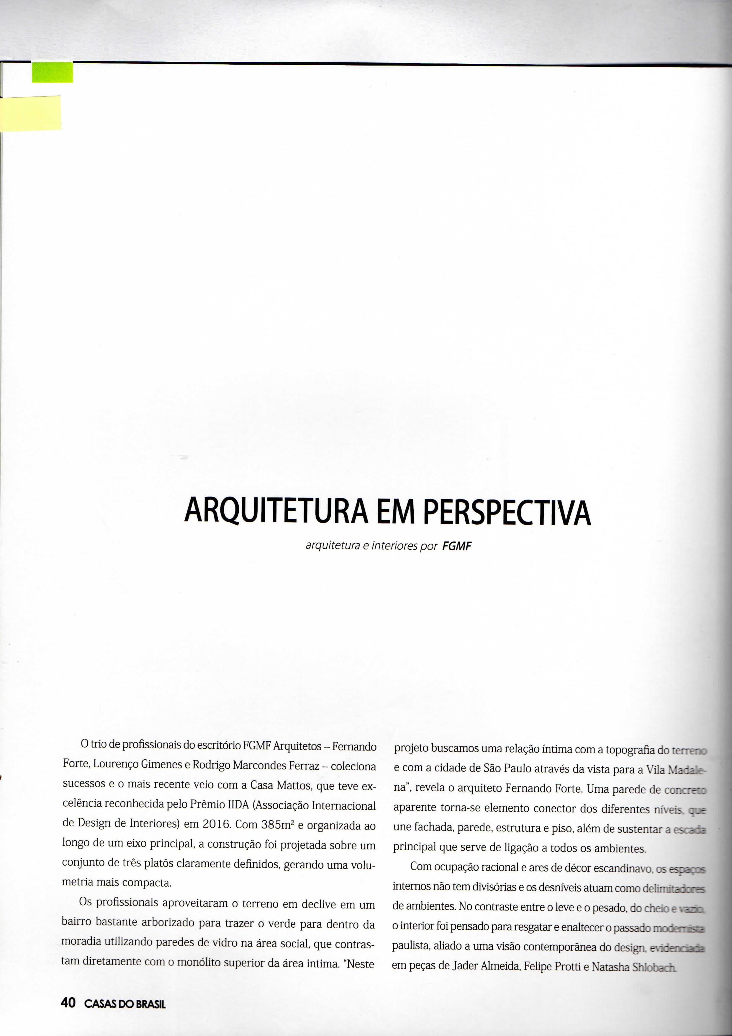Livro Casas do Brasil - Viver em SP 2016